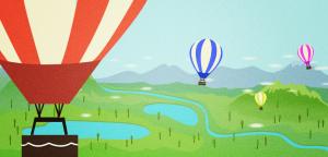 vuelo en globos